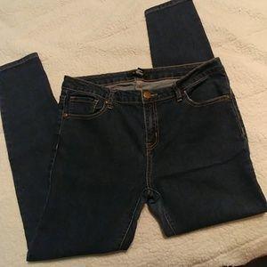 Forever 21 blue skinny jeans, 31
